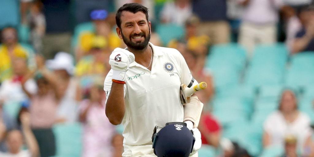 Pujara cricket